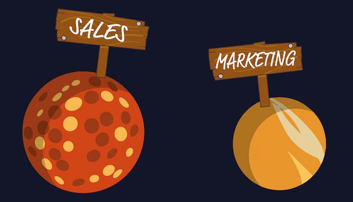تفاوت بازاریابی و فروش چیست؟