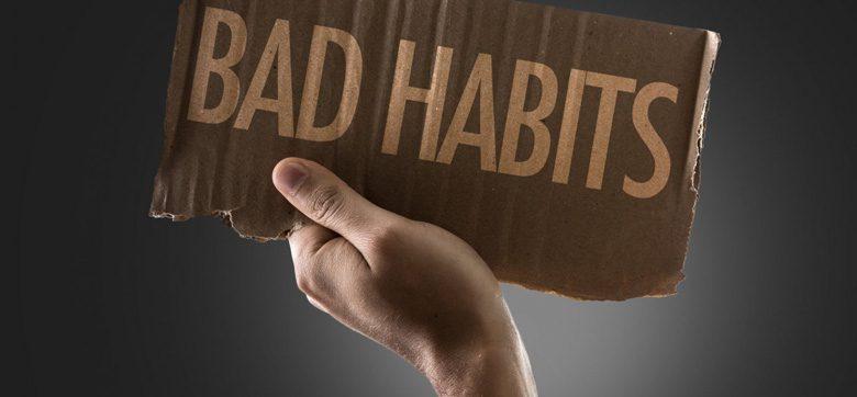 5 استراتژی برای حذف عادت های بد